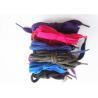 China Nylon Waxed Flat Shoe Laces with Plastic Tips , High Tenacity wholesale