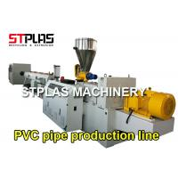 China Multi Function PVC Pipe Extrusion Machine Plastic Pipe Production Line Energy Saving wholesale