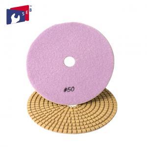 China Flexible Square Diamond Polishing Pads Nylon Sponge 16 - 120 Mm Aperture wholesale