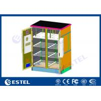 Buy cheap Two Bay Outdoor Base Station Cabinet High Strength Air Conditioner Cooling Anti from wholesalers