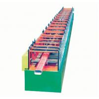 China 14 Roller groups Panasonic PLC Roof Colored Glaze Steel angle roll forming machine wholesale
