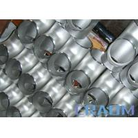 China Alloy 600 Nickel Alloy Steel Equal & Reducing Tee Inconel Nickel Alloy Fittings wholesale