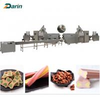 Buy cheap Good Pet Treats Dog Chews Bone food Extruder Machine  ISO9001 2008 Certification from wholesalers