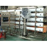 PET Glass Bottle RO Water Treatment Systems in Stainless Steel , Water Treatment Filter
