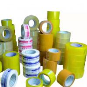 China Custom Transparent Bopp Film 48mm Adhesive Custom Logo printed Packing Tape wholesale