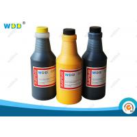 China Yellow Solvent Base Inkjet Printer Ink 473ml Replacement For Citronix Printer wholesale