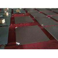China 0.8 X 1.5m Electronic Floor Scale , 3 T Industrial Weighing Scales With Printer wholesale