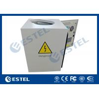 Buy cheap Anti- corrosion Pole Mount Enclosure / Pole Mounted Cabinet With Shaped Hole, Full Protection from wholesalers
