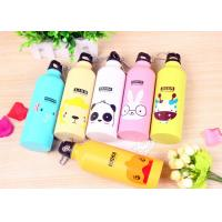 China Animal Pattern Cute Water Bottles , 500ml Customize Lovely Sports Bottle wholesale