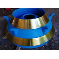China Smooth Surface Cone Crusher Spare Parts Mn18cr2 Concave And Mantle wholesale