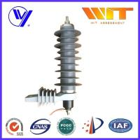 China Self Standing Lightning Surge Arrester With Polymeric Housing , High Energy Dissipation Capability wholesale