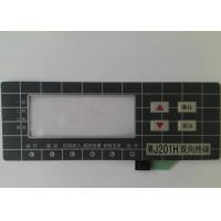 China Custom Touch Screen Waterproof Membrane Switch With 3M Adhesive , High Sensivity wholesale