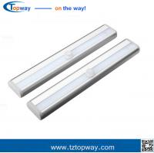 China utilitech led under cabinet/garage/corridor lighting motion sensor infrared led light on sale