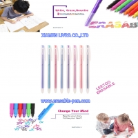 China Kids Painting 8 Color Frixion Marker Pen With Eraser wholesale