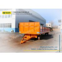 China Solid Tyre Heavy Duty Plant Trailer 1 Ton - 100 Tons Large Load Capacity wholesale