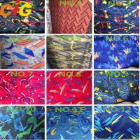 Buy cheap 100% Polyester Printing Auto Upholstery Fabric 140 - 150cm width from wholesalers
