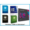 China English / Russian windows 7 ultimate 32 64 bit full retail version DVD retail box wholesale
