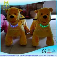 China Hansel kids entertainment coin operated electric indoor and outdoor ride on party animal toy wholesale