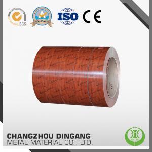 China PE / PVDF Coating Aluminium Colour Sheet , Alloy 5052 H24 Prepainted Aluminum Coil wholesale