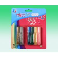 China Customized Non toxic / Acid Free Glitter Stationery Glue for School , Office on sale