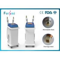 China needle and non-needle 2 in 1 rf microneedle Thermage face lifting and acne scar removal wholesale