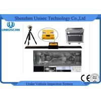Waterproof Moveable Type Under Vehicle Inspection System 1920 * 1080P Resolution Manufactures
