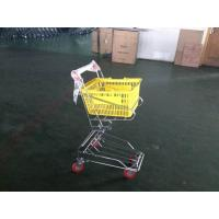 China Chrome plated Shopping Basket Trolley , personal shopping cart wholesale