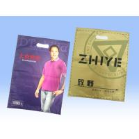 China Retail Large Sealable Plastic T Shirt Bags , Recycled Plastic Bag Packaging wholesale