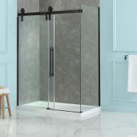 China Customized Shower Glass Partition 8mm Frameless Glass Shower Doors on sale