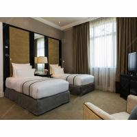 Buy cheap Luxury Complete Hotel Guest Room Furniture Sets Veneer And Lacquer Finished from wholesalers