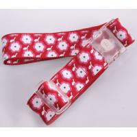 China 100% Polyester Retractable Printed Logo Luggage Belt wholesale