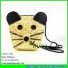 China LDMC-011 wheat straw handbag, girls beach bag,mickey straw shoulder bag wholesale