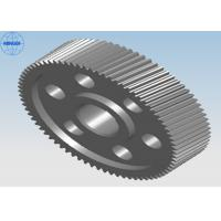 China Heat Treated Precision Single Steel Helical Gears With Diameter Up To 2400mm wholesale