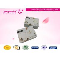 China Bio Herbal Medicated Lady Anion Napkin Pads White / Custom Color Available wholesale