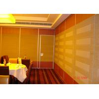 China HPL Melamine Training Room Internal Partition Walls For Convention wholesale
