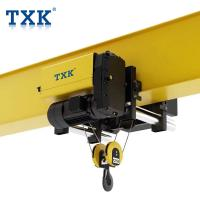China Single Girder 2 Ton Wire Rope Hoist European Style With ABM Motor FEM Standard wholesale