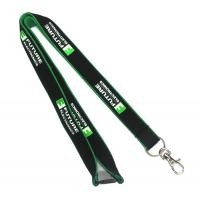China Safety Breakaway Flat Polyester Lanyards With Spring Hook For Camera on sale