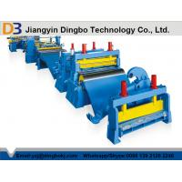 Buy cheap Automatic Easy Operation Steel Slitting line With Color Customized from wholesalers