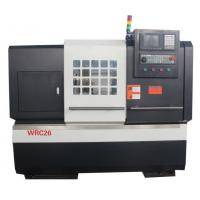 China Diamond Cutting Alloy Wheel CNC Lathe With Digitizer Probe and Touch Screen Type on sale