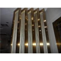 China Stainless steel edge profile for doors with rose gold color wholesale