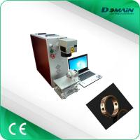China Raycus Source 1064nm Industrial Laser Marking Machine 30 Watt Easy To Operate on sale