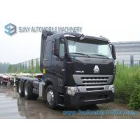 China 420 HP Sinotruk HOWO A7 Tractor Truck Heavy Prime Mover AMT Gearbox Diesel Fuel Type wholesale