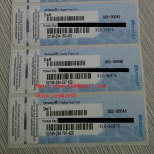 China Windows 7 Home Premium 64 Bit SP1 Multi Deutsch Englisch FR NL Win 7 Home wholesale