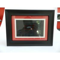Fashion 7 Inch Wooden Desktop LCD Digital Photo Frame For Friendship / Wedding