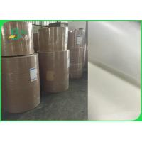 China 26gsm To 50gsm Greaseproof White Kraft Paper Roll FDA FSC Certified wholesale
