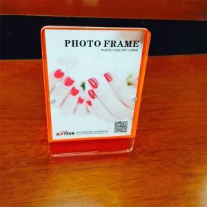 China Magnetic Acrylic Photo Frame acrylic photo block wholesale