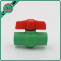 China Multipurpose Plastic Ball Valves And Fittings Smooth Internal Surface wholesale
