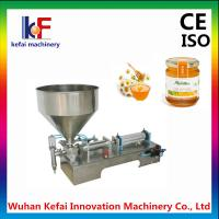 China Hot sale vertical pneumatic ointment cream lotion filling machine wholesale