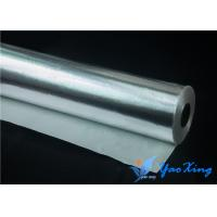China 0.6mm Anti - Corrosion Aluminum Foil Fiberglass Cloth Good Gasproof For Pipes wholesale