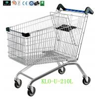 China European Style Disabled Supermarket Shopping Trolley Cart With Baby Seat wholesale